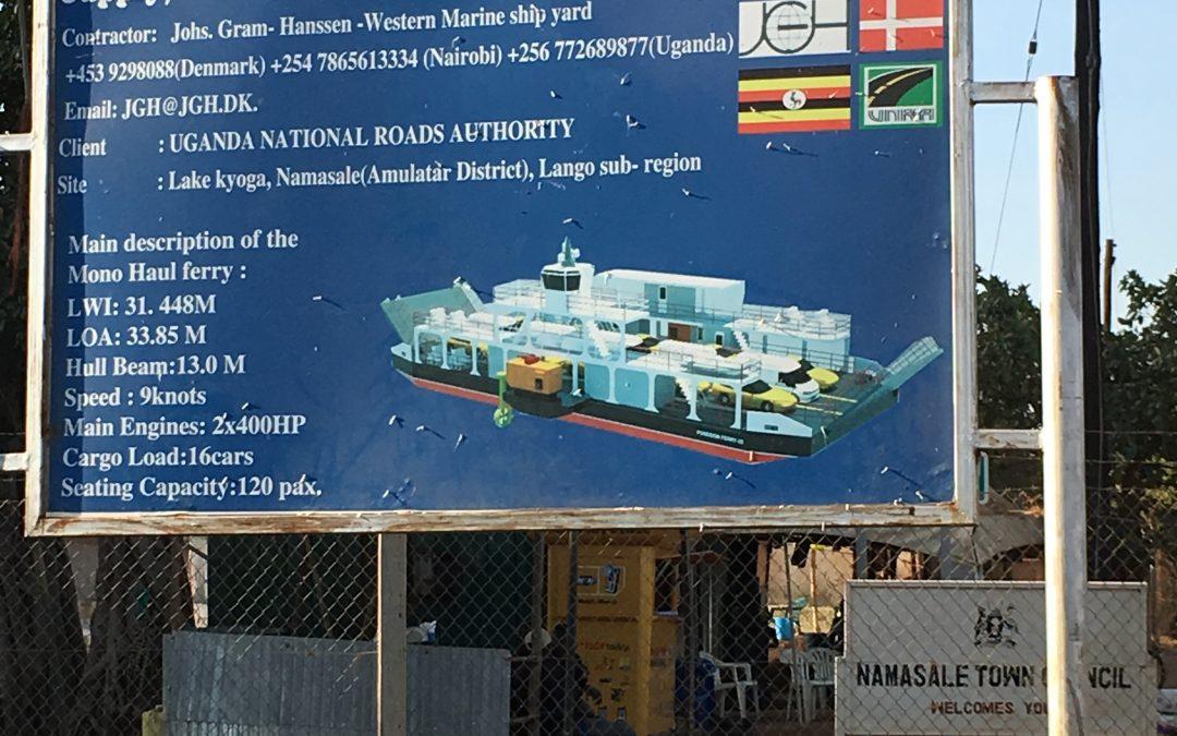New Ferry, Lake Kyoga, Uganda
