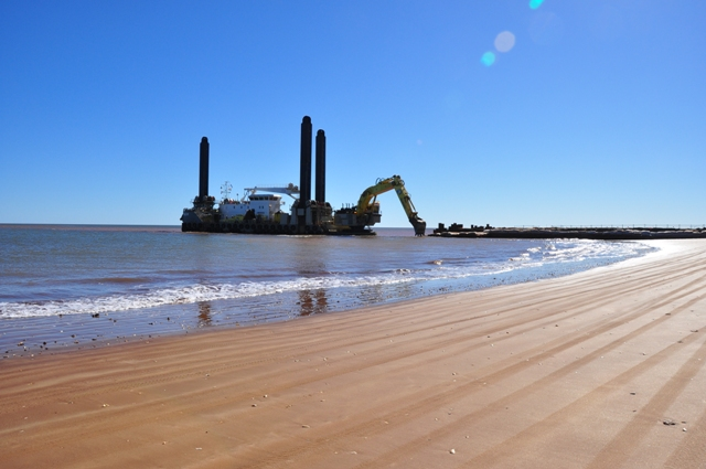 Dredging Superintendent Backhoe dredger, Onslow Australia