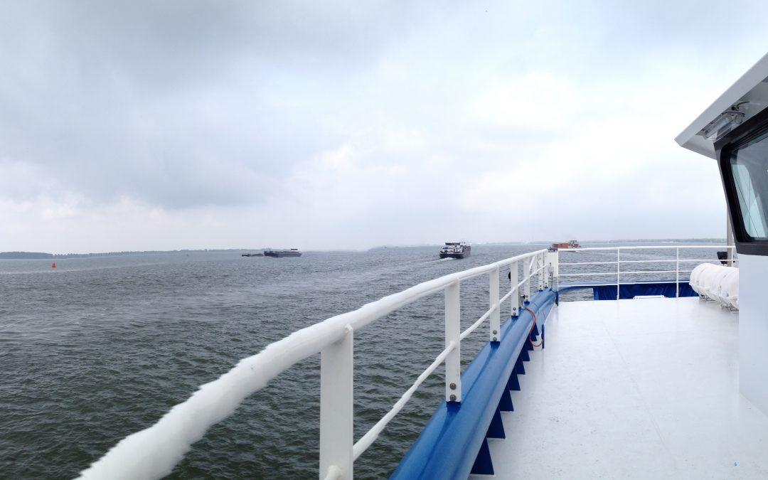 Sea Trials Fast Supply Boat
