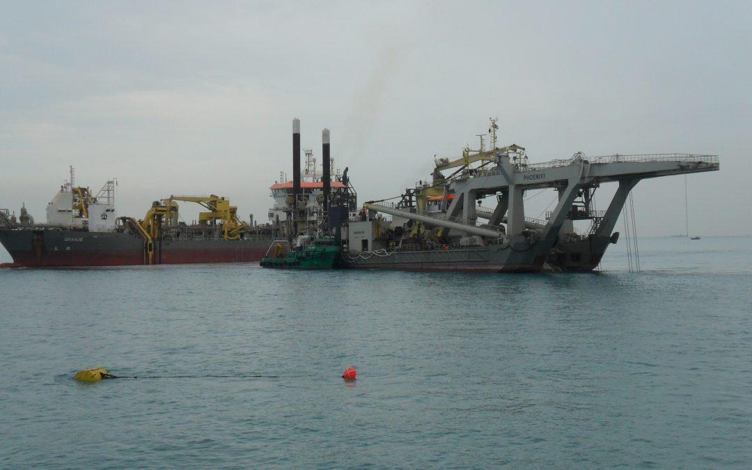 Offshore Superintendent, Atlantique Dragage, Iraq