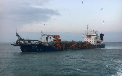 Assessment dredging installation, Taman, Russia