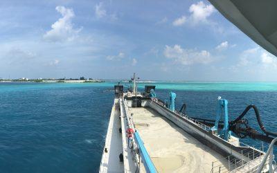 Dredging, Maldives